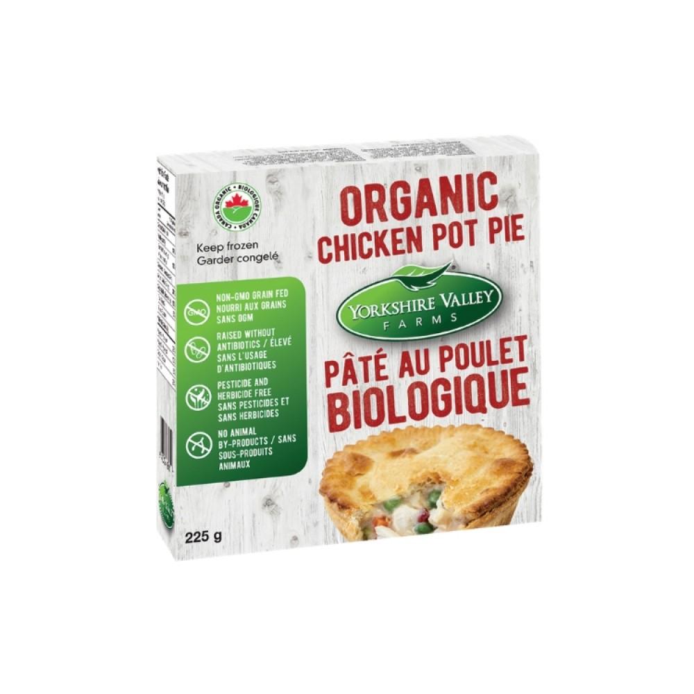 Yorkshire Valley Farms Organic Individual Chicken Pot Pie (225 g each)